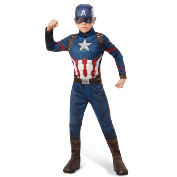 BRAND NEW - Captain America Costume for Kids